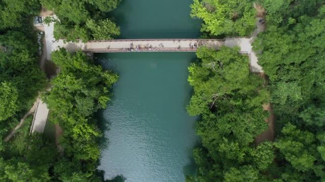 Austin Texas Greenbelt Aerial View