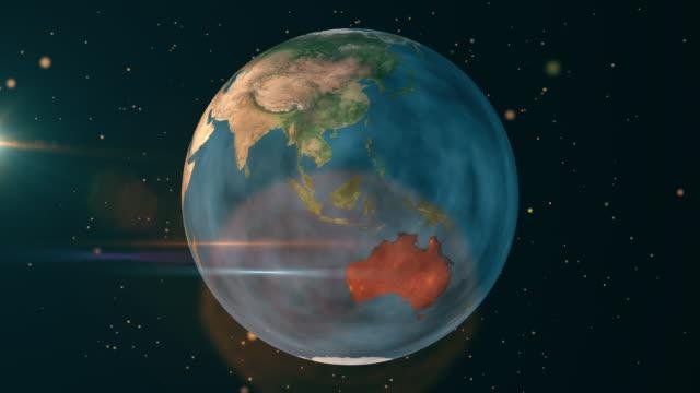 stockvideo's en b-roll-footage met australië - earth natural disaster - brand - geologie