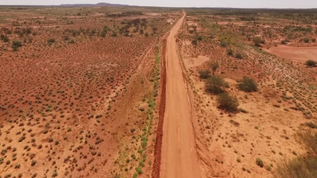 Australian desert Roads video