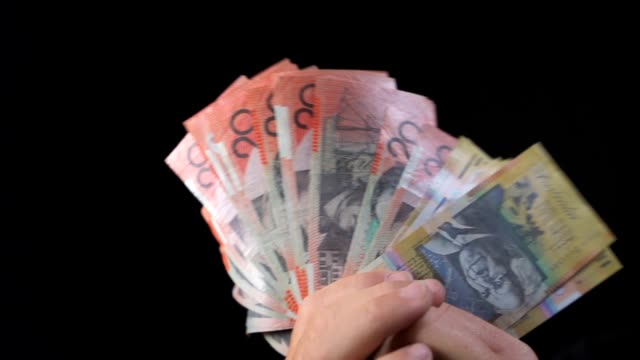 Australian Money Waving HD video