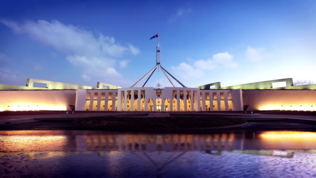 Australian Parliament House, Canberra, Australia video