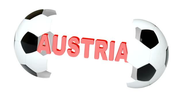 Austria. 4K Resolution. Looping. Austria. 4K Resolution. Looping. international match stock videos & royalty-free footage