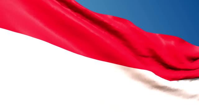 österrike flagga vajande. 3d render sömlös loop - solar panel bildbanksvideor och videomaterial från bakom kulisserna