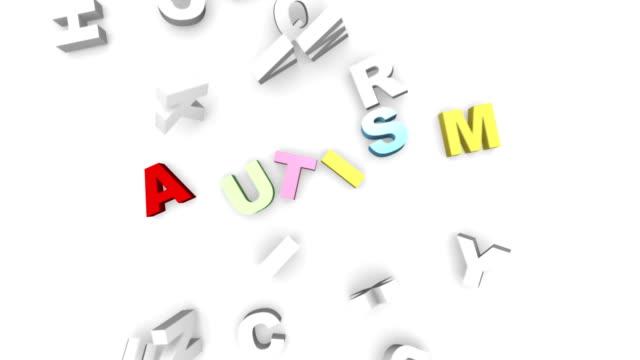Autism letters video