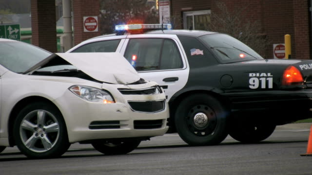 Auto Accidents, Police Car video