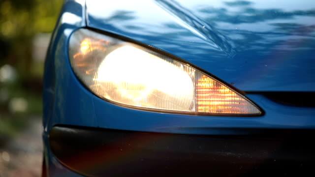 Auto blinker on headlight video