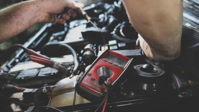 auto mekaniker verkstad - verkstad bildbanksvideor och videomaterial från bakom kulisserna