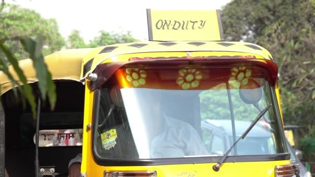 Auto Rickshaws at Delhi, India video
