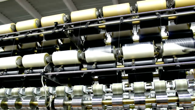 Automated production of synthetic fibers video