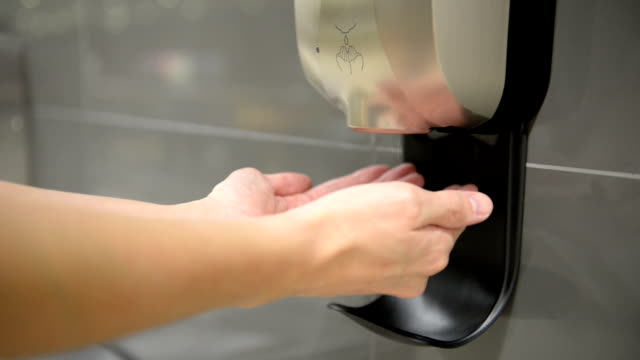 Automatic hand sanitizer video