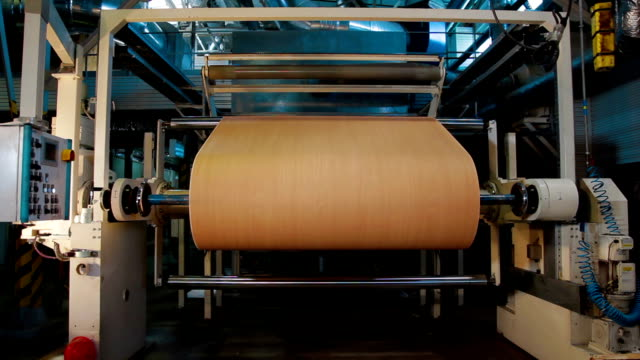 Automatic Machine Production of tape for laminate video