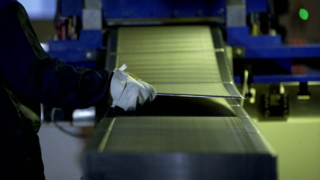 Automatic Metal Bending Machine as it Bends Aluminum video