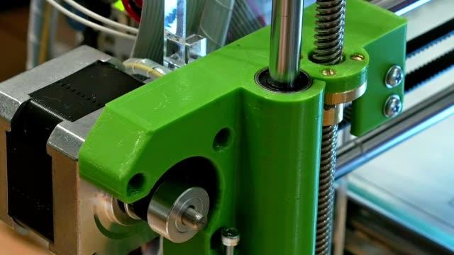 Automatic robotics mechanical equipment laboratory video