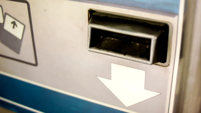 Automatic ticket machine video