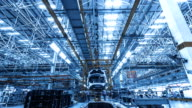 istock Automobile factory production equipment 1257015096