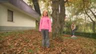 istock HD DOLLY: Autumn Chores 113434294