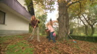 istock HD DOLLY: Autumn Chores 113434300