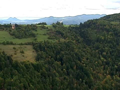 autumn from air - i̇badet yeri stok videoları ve detay görüntü çekimi