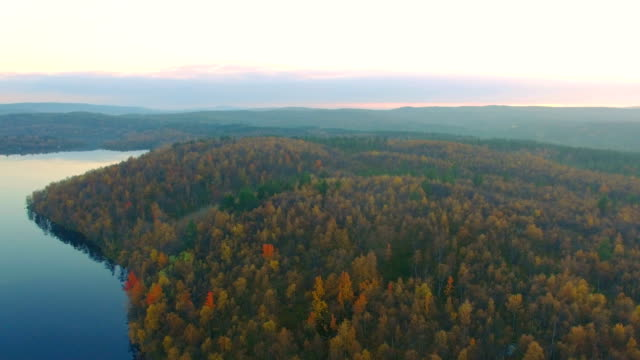 Autumn landscape video