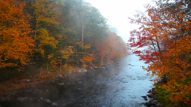 Autumn steam from the Millers River video