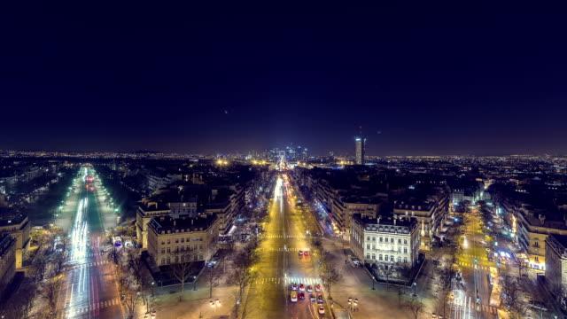 avenue de la grande armee & la defense» - проспект стоковые видео и кадры b-roll