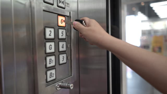 Avoid to use the finger tip to press button inside elevator or lift.