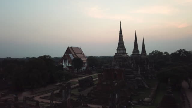 Ayutthaya ancient city temple , Thailand