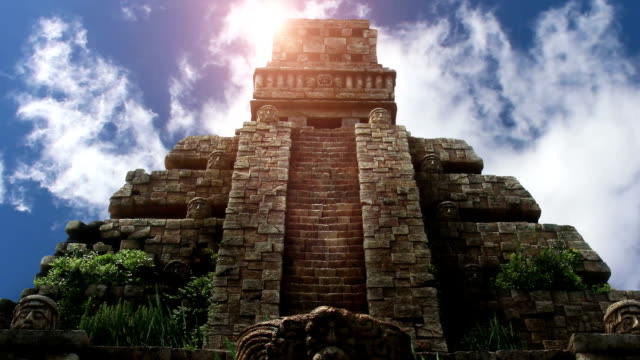 Aztec Temple in Yucatan