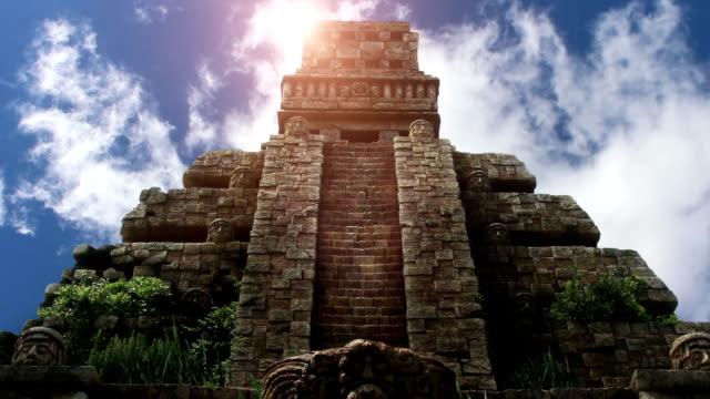 Aztec Temple in Yucatan video