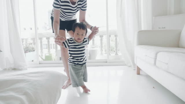 Baby Boy (6-11 months) Taking First Steps video