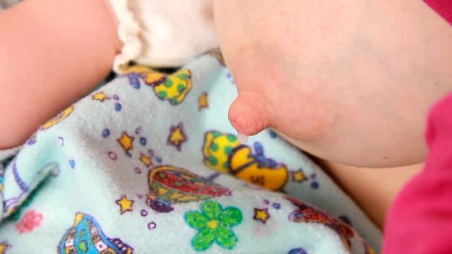 Baby breastfeeding Mother is breastfeeding baby breast stock videos & royalty-free footage