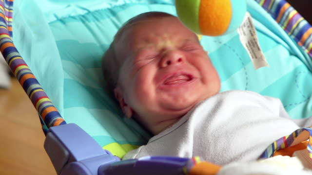 Baby Crying - HD Slow Motion video