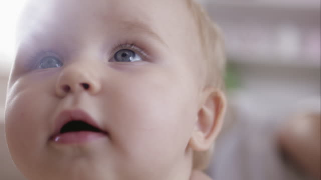 Baby face - Close up video