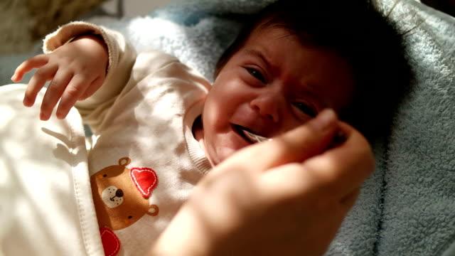 Baby Feeding With Liquid Medicine video