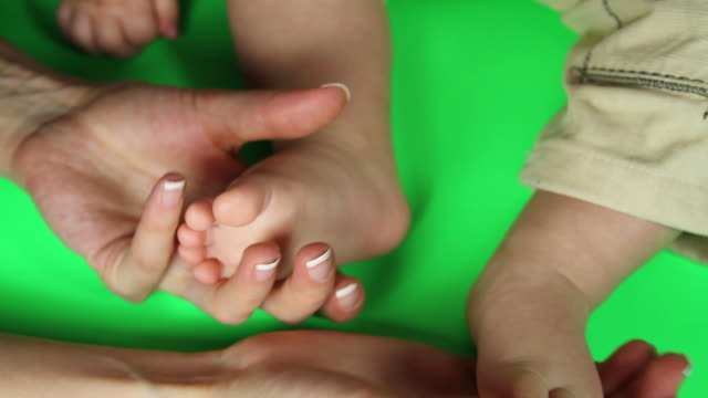 Baby feet video