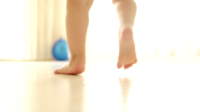 Baby First Steps video