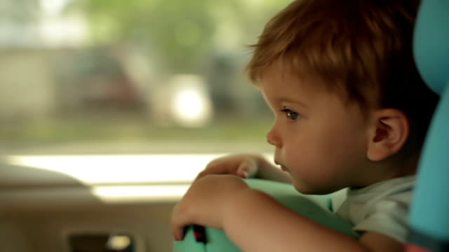 Baby in Car Seat video