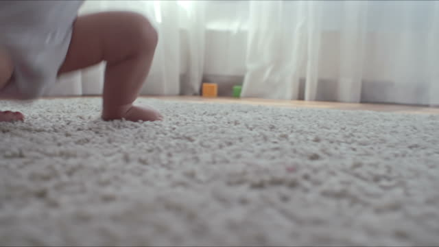 Baby Making First Steps and Falling video