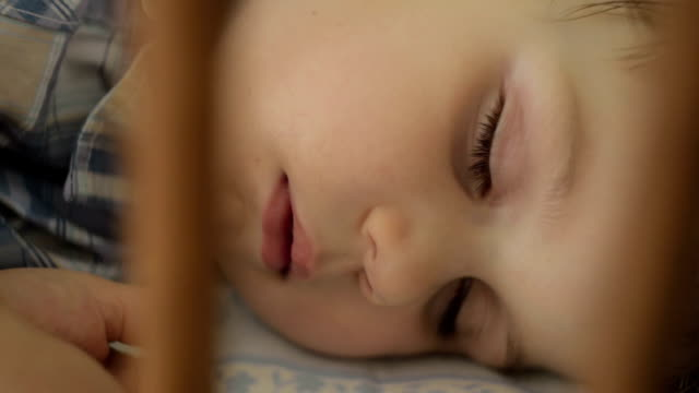 Baby sleeping video