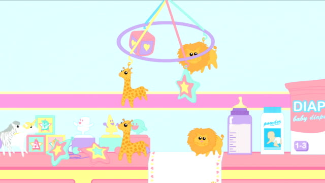 vídeos y material grabado en eventos de stock de fuentes de bebé - baby shower