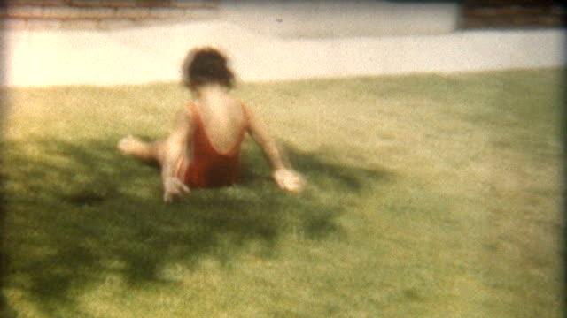 baby tumbler 1960's - sentimentalitet bildbanksvideor och videomaterial från bakom kulisserna