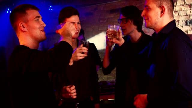 De despedida de soltero en un club nocturno - vídeo