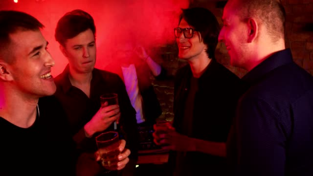 Bachelor's Party at a Nightclub video