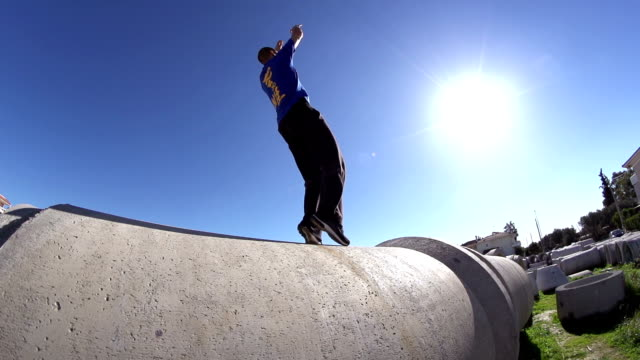 Back flip video