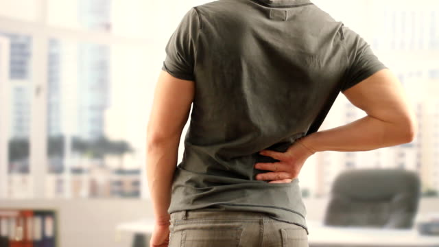 Back pain stock videos