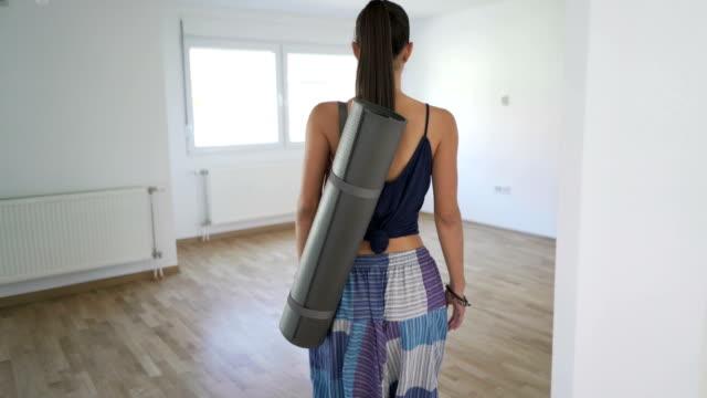 Back To Her Yoga Corner video