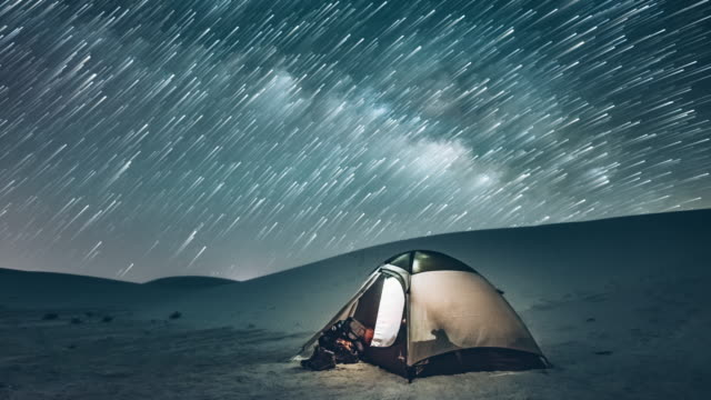 Backcountry Camping Under the Stars video