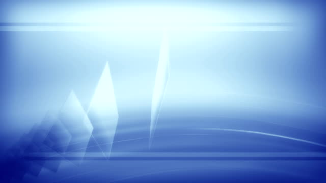 Background Abstract Shards (Blue) video