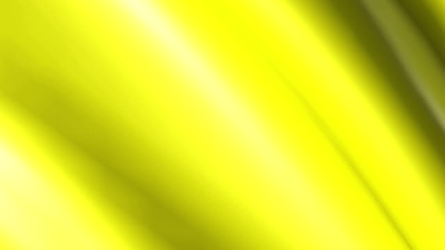 Background animation of looping shiny yellow cloth. video
