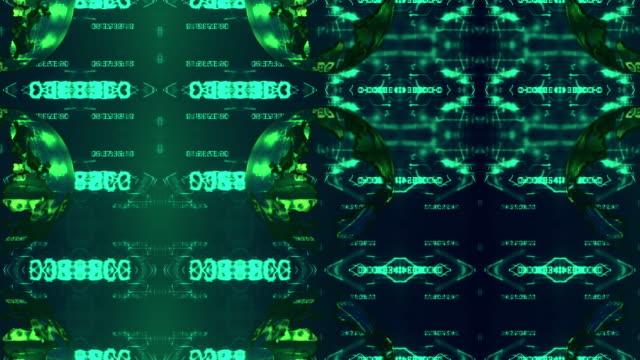 vídeos de stock, filmes e b-roll de fundo 3d - manipulação digital